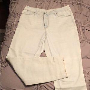Loft Skinny Curvy Ankle Jeans - Light Wash 29/8